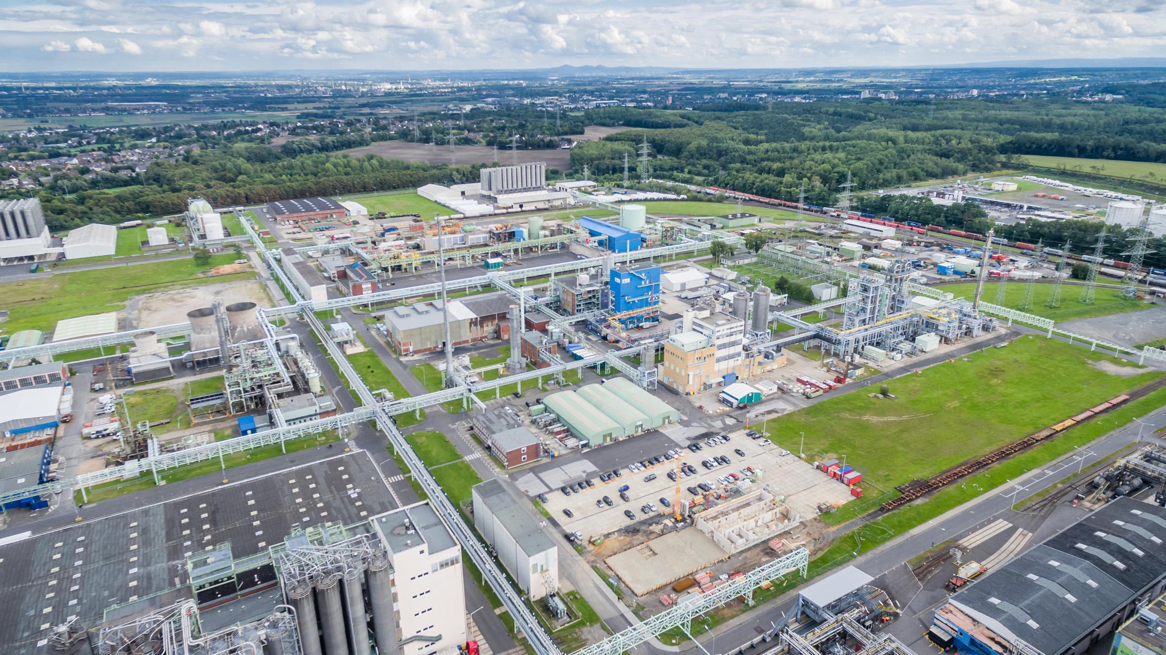 Süderweiterung des Chemieparks Knapsack geht voran