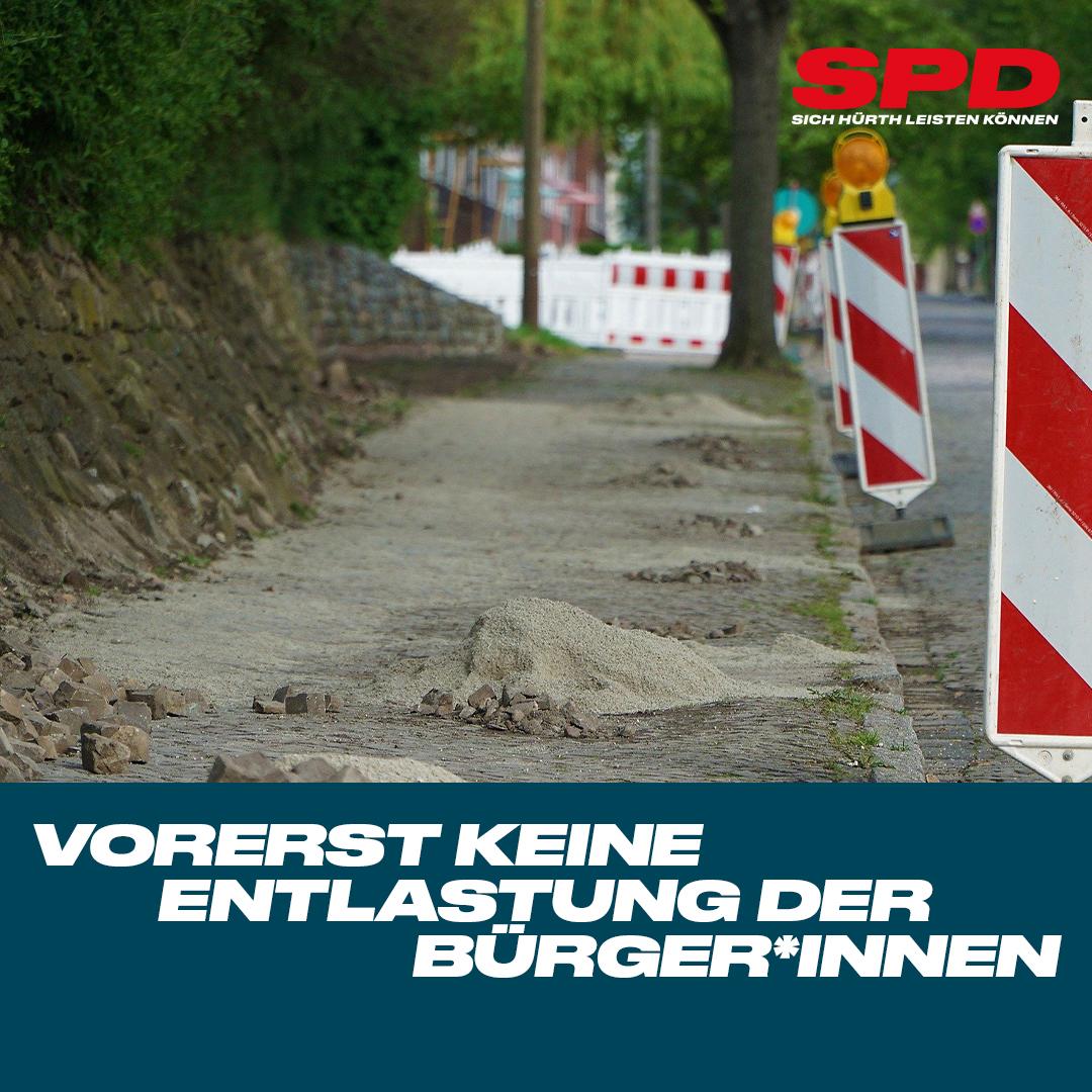 Vorerst keine Reduzierung der Straßenausbaubeiträge